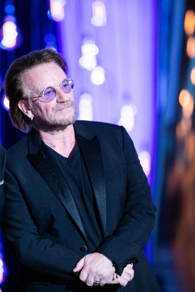 Bono at the Donostia Awards in late 2019