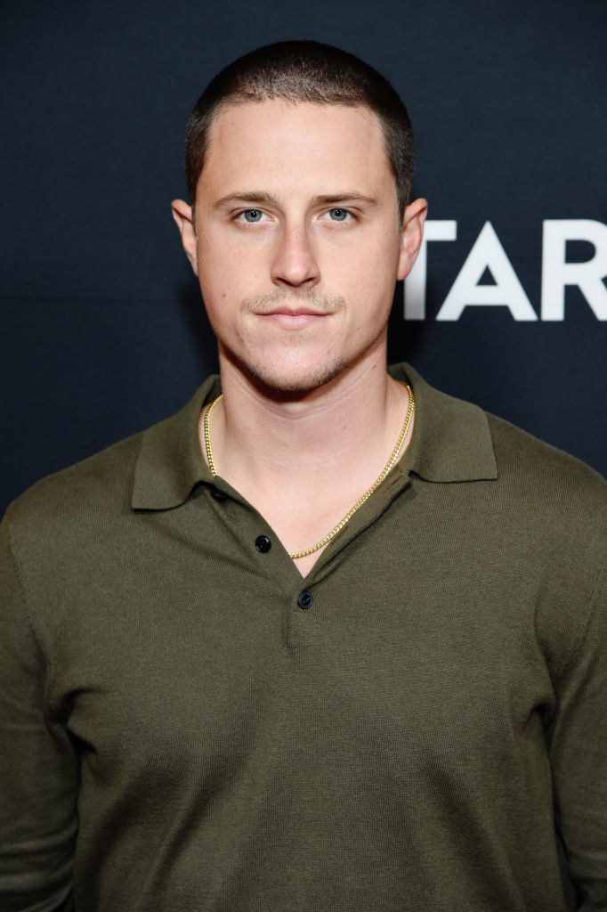 Shane Harper on a red carpet