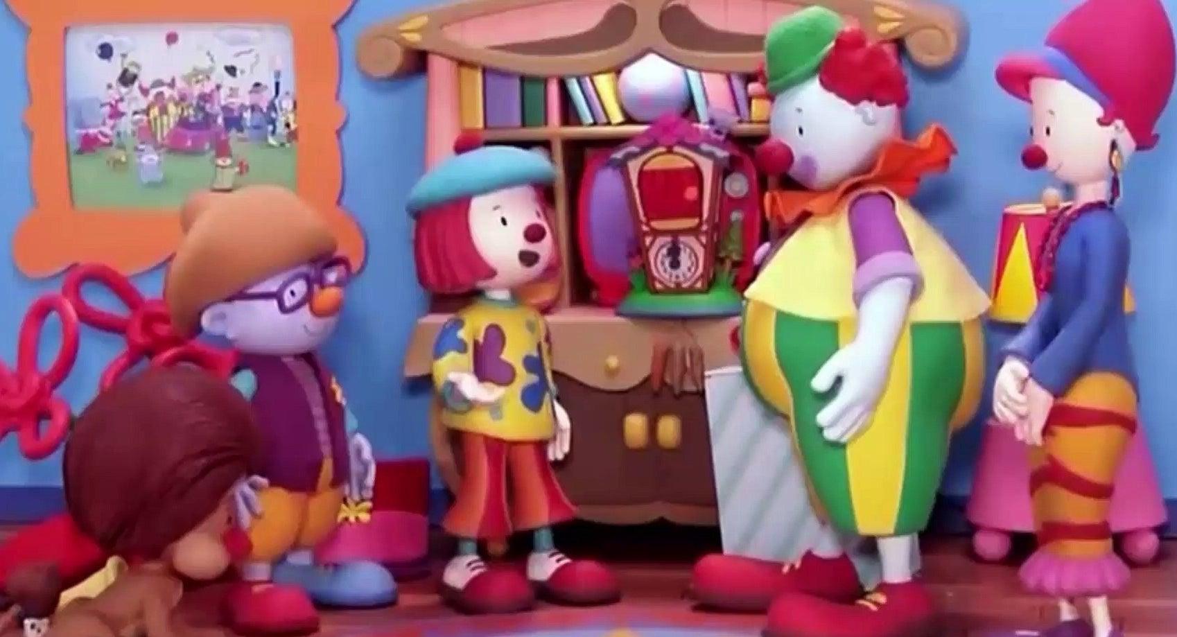 Animated clowns