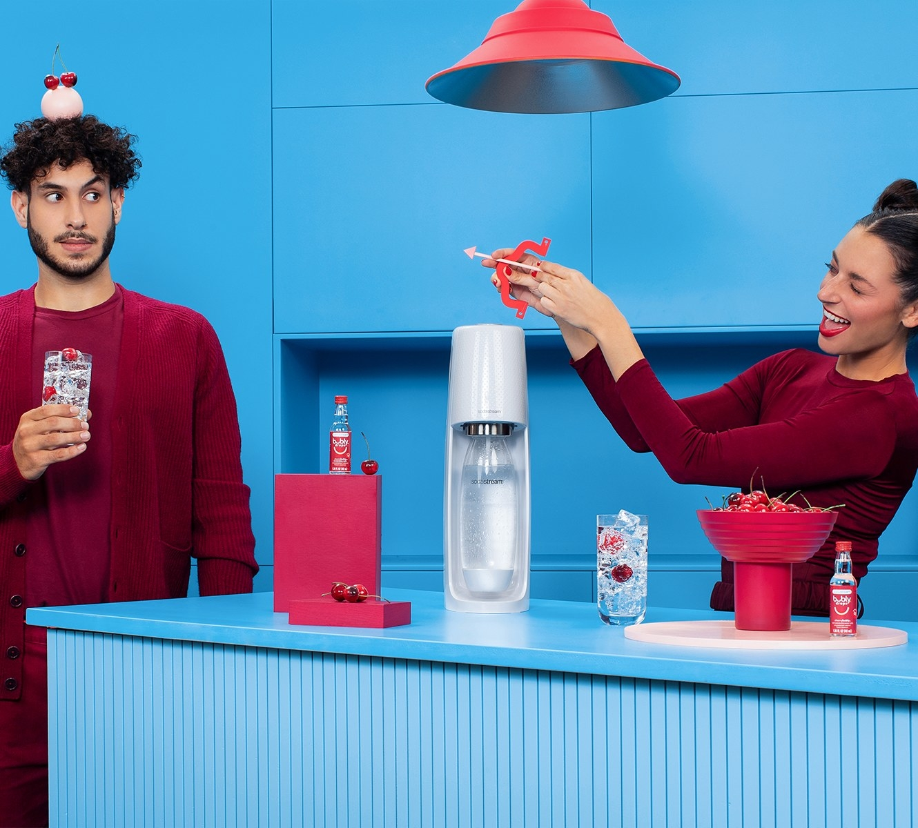 two models using the SodaStream