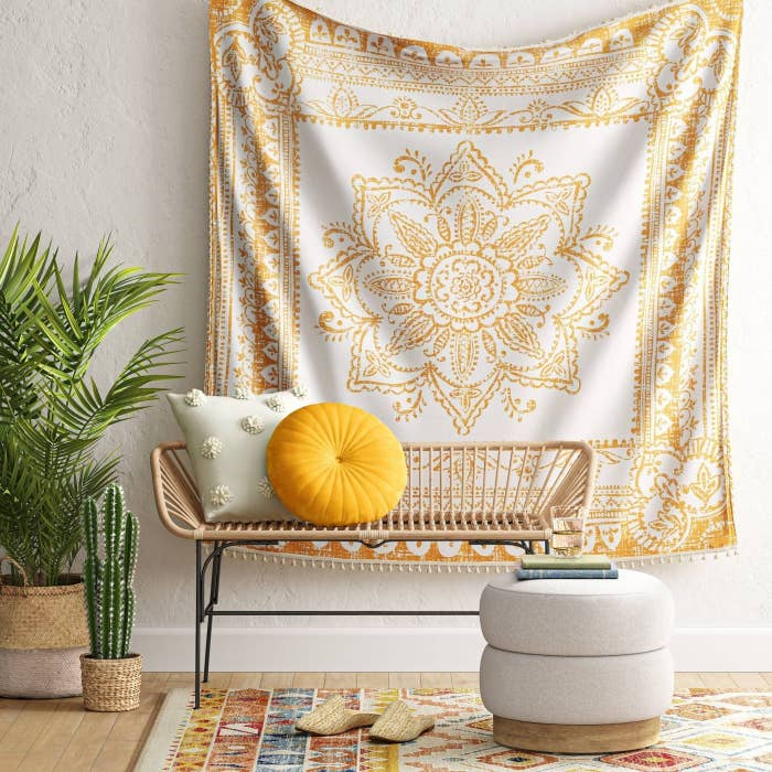 Thegold wall tapestry