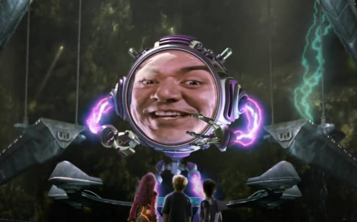 George Lopez as Mr. Electric in the film