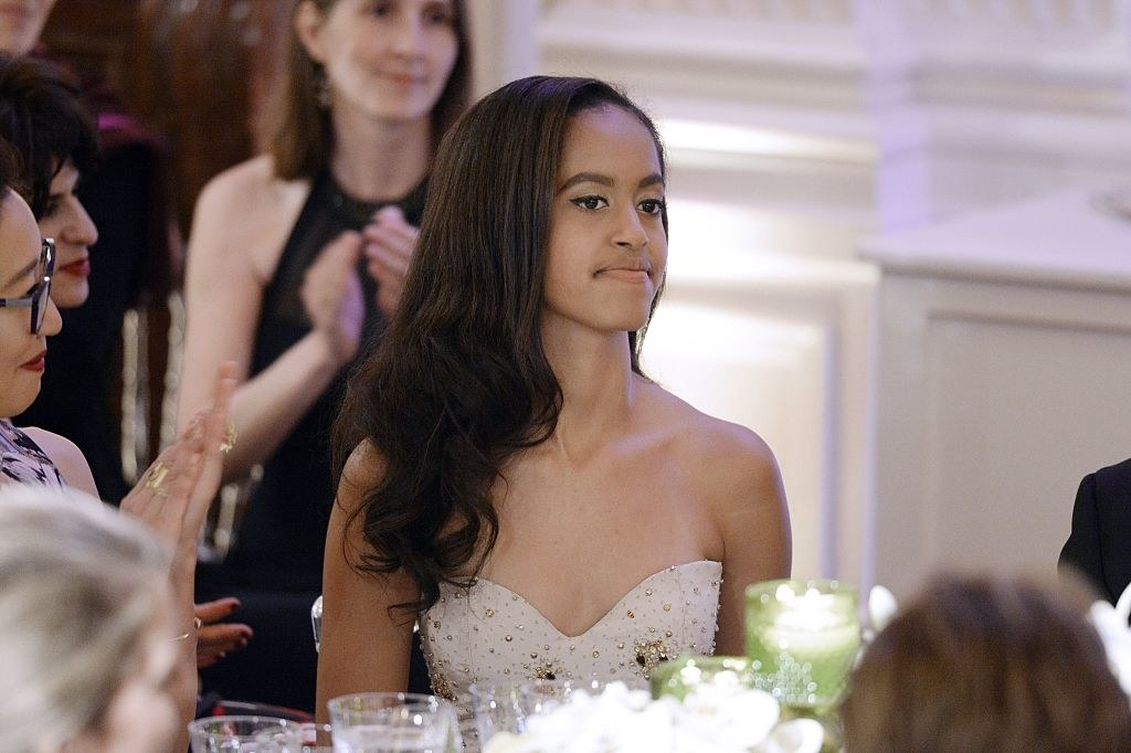 daughter of President Barack Obama