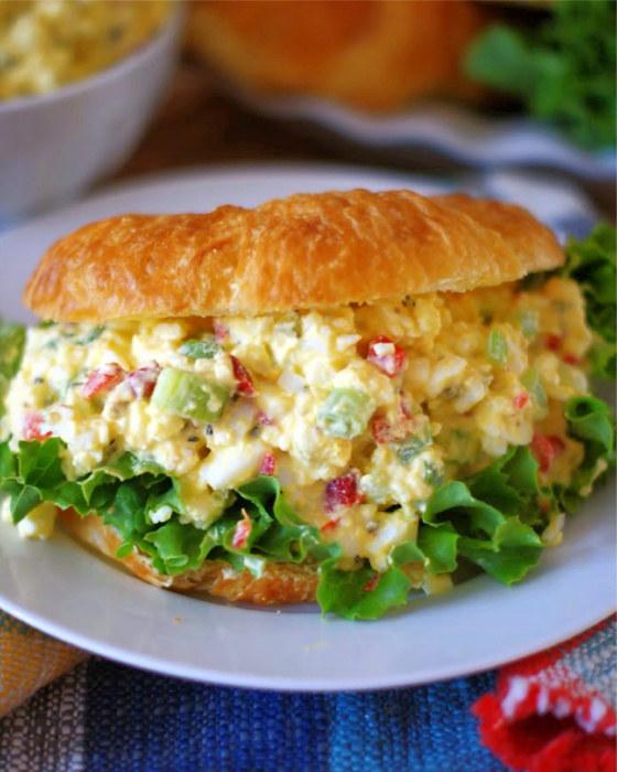 Farmhouse egg salad