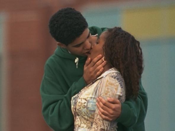 Jimmy and Hazel kiss