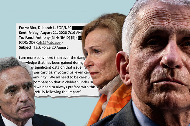 """Anthony Fauci And Deborah Birx Warned Top Officials About The """"Dangers"""" Of Scott Atlas Last Summer, Emails Show"""