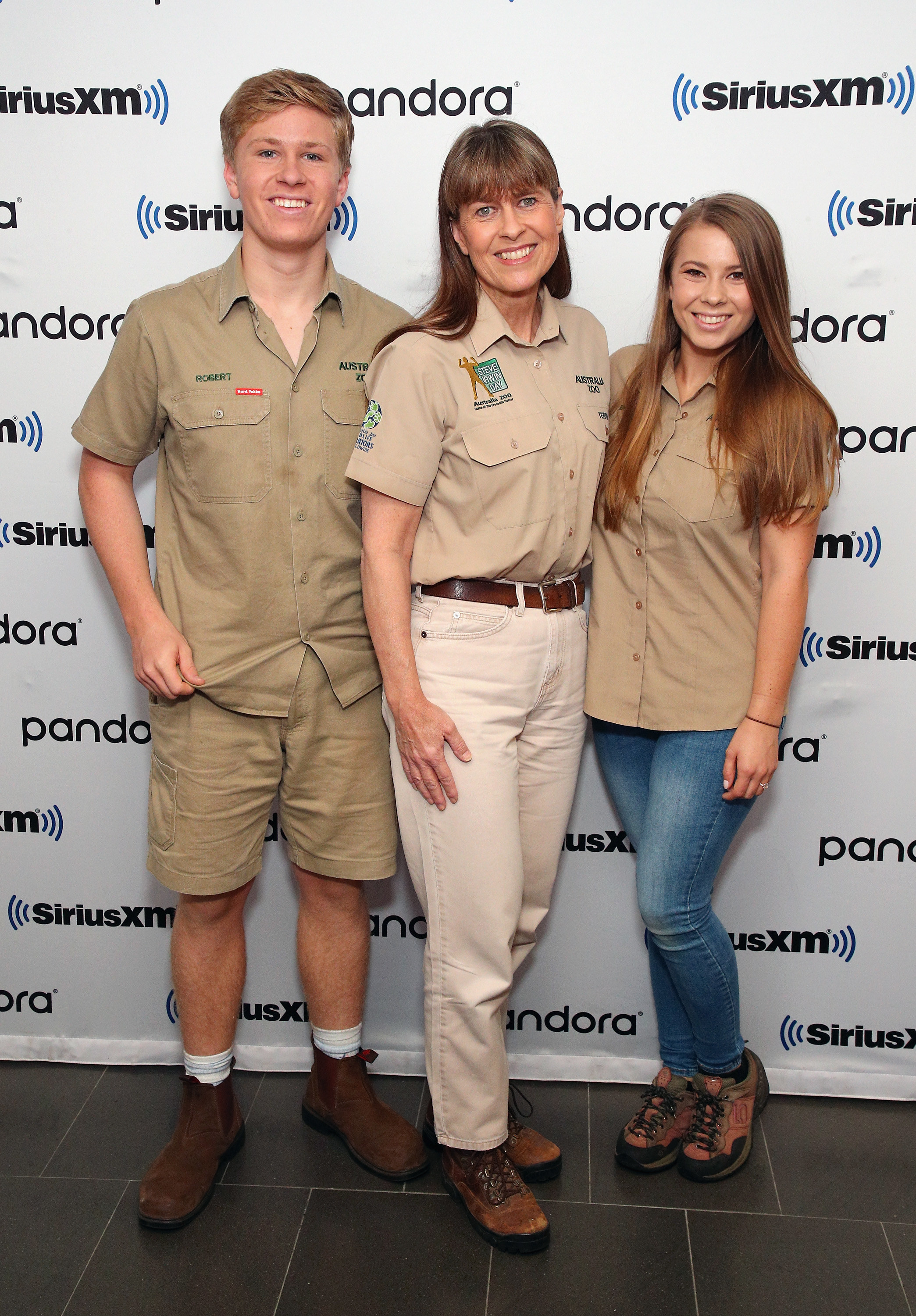 The Irwin family at an event together