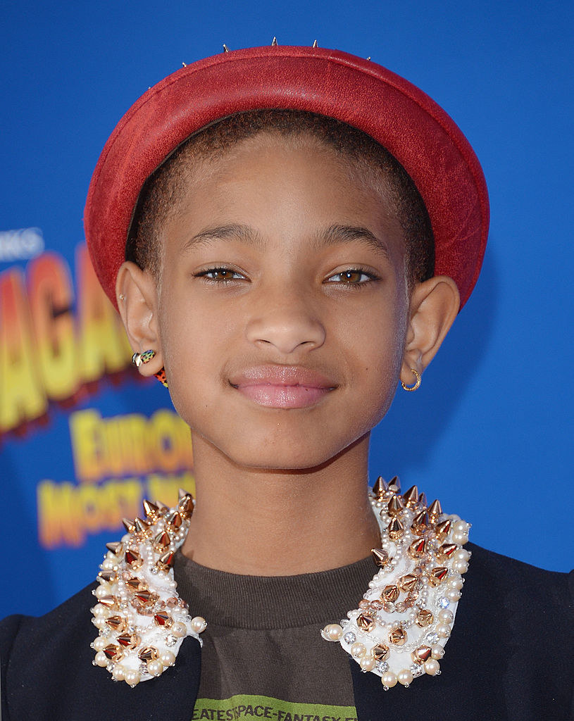 """Willow Smith attends the """"Madagascar 3: Europe's Most Wanted"""" New York Premiere with a buzzed head"""
