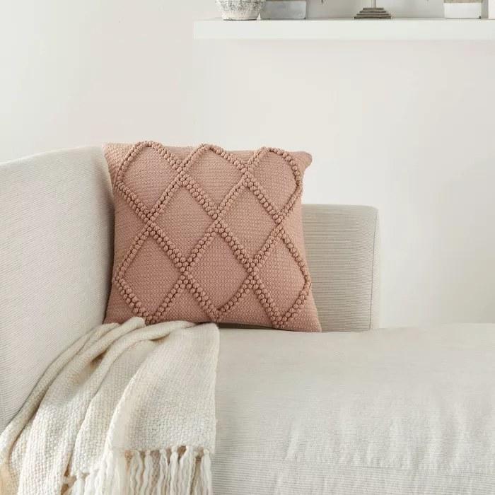 The blush pillow