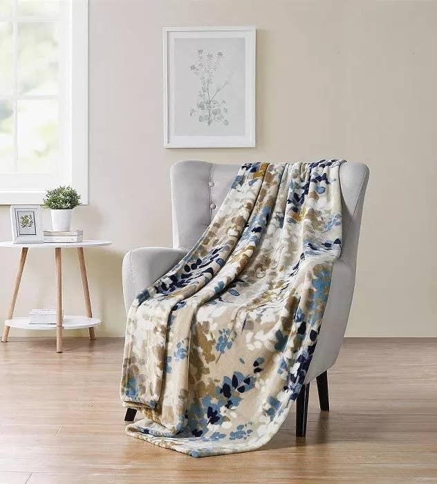 The floral blanket