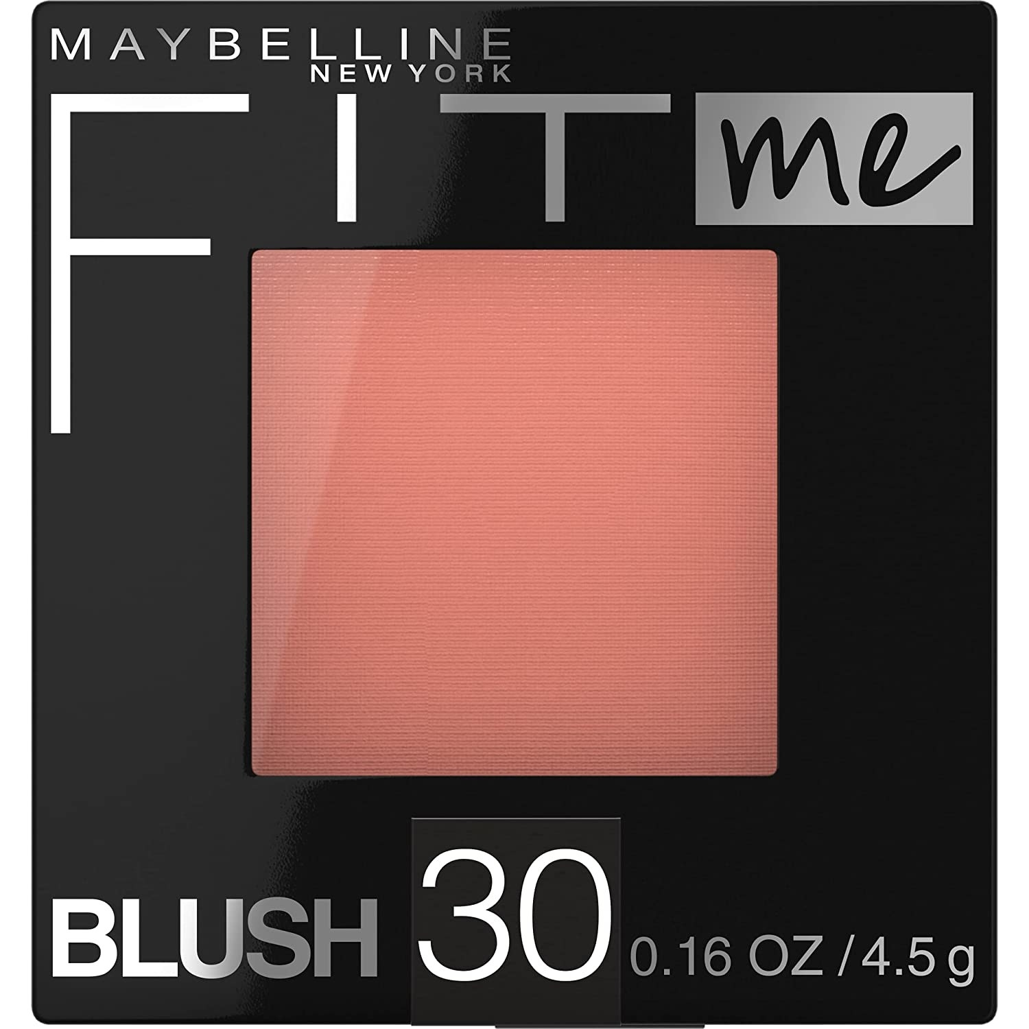 A peachy pink blush by Maybelline