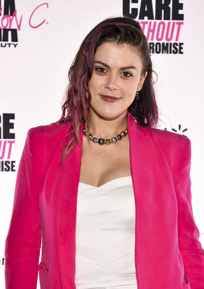 Lindsey Shaw is photographed at an event in West Hollywood, California