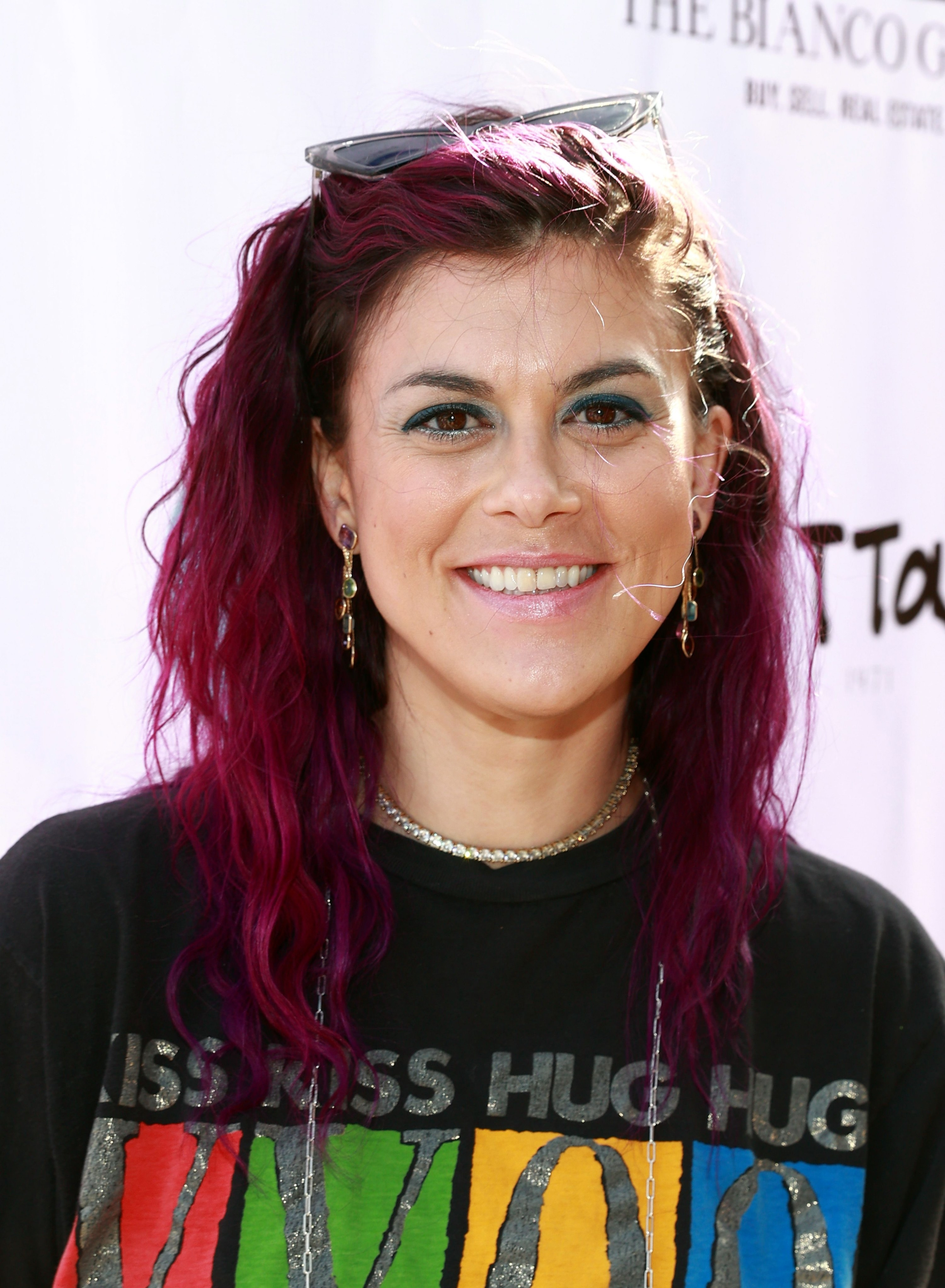 Lindsey Shaw is pictured smiling