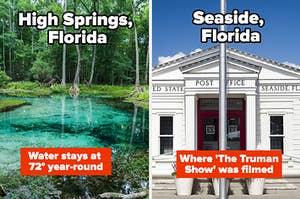 Various towns in Florida