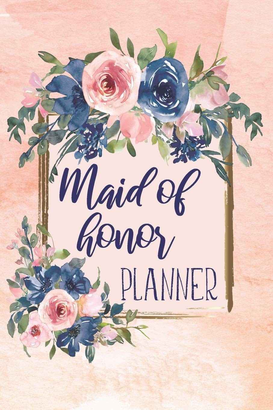 """the planner which says """"maid of honor planner"""""""