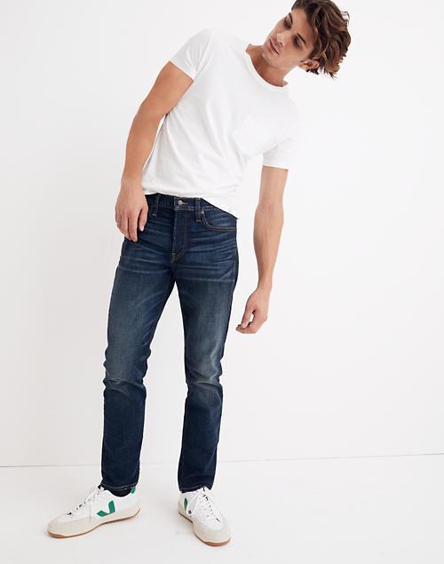A model wears the jeans