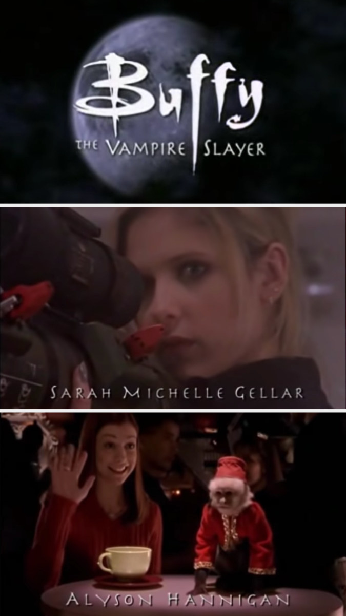 The opening to Buffy season 3