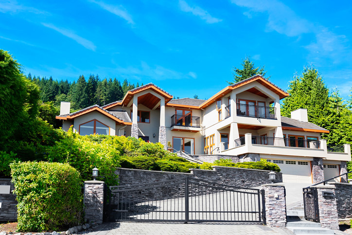 A Vancouver mansion