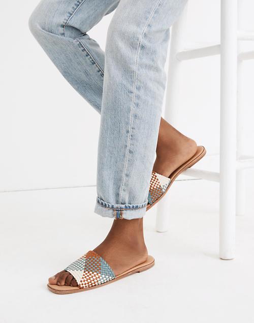 The sandals in multi