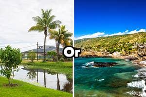 Suriname or Comoros