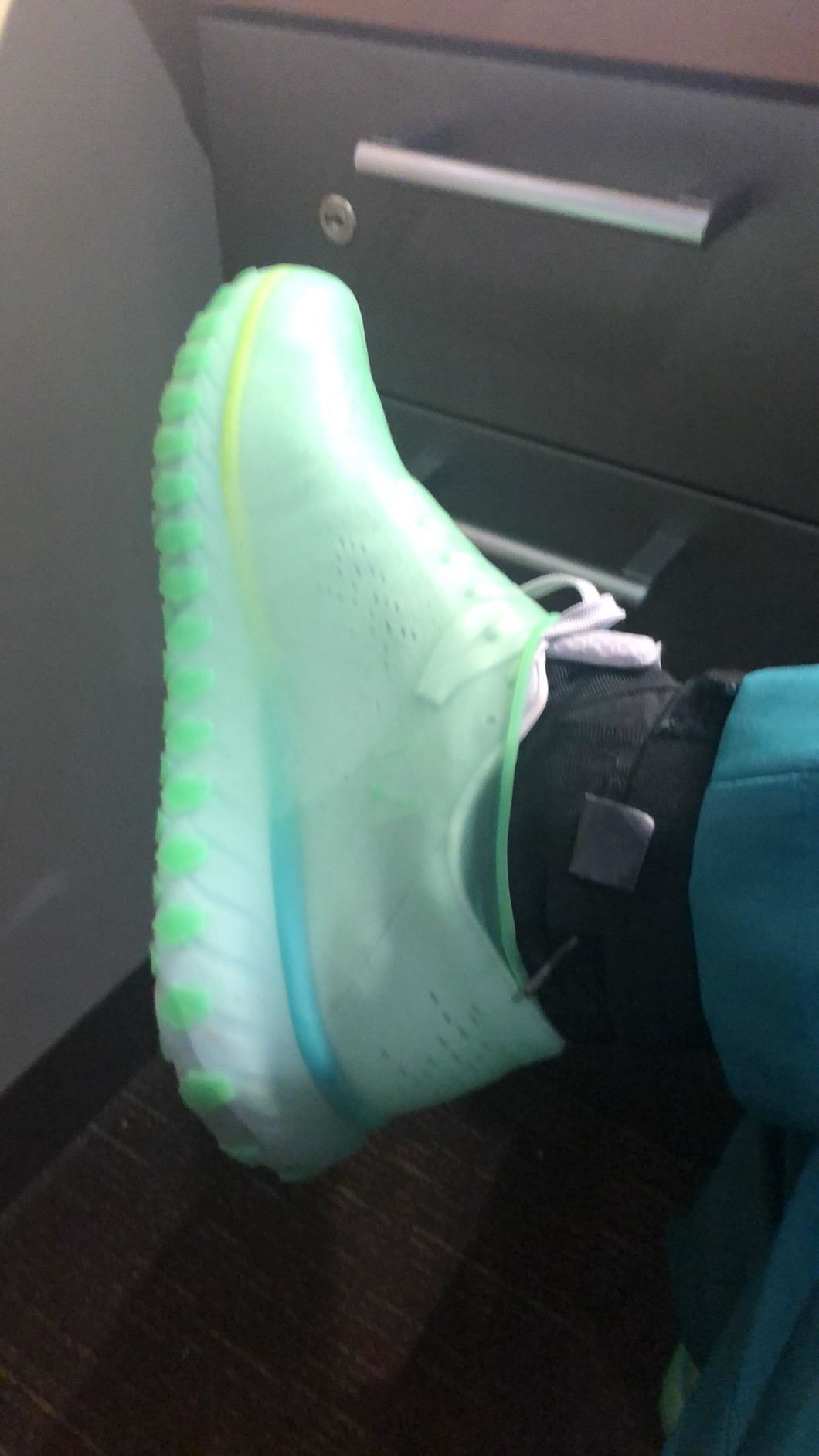 silicone cover over shoe