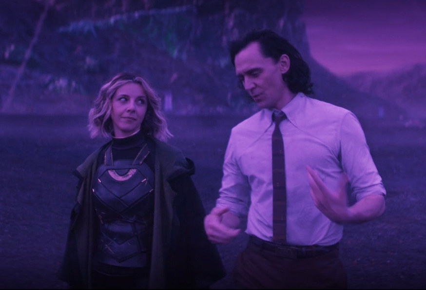 Sylvie and Loki get to know each other on Lamentis