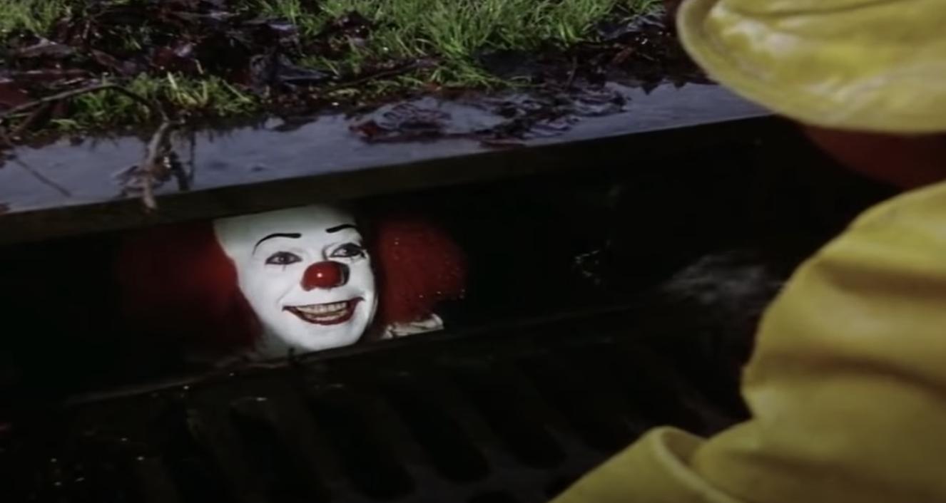 It in the gutter