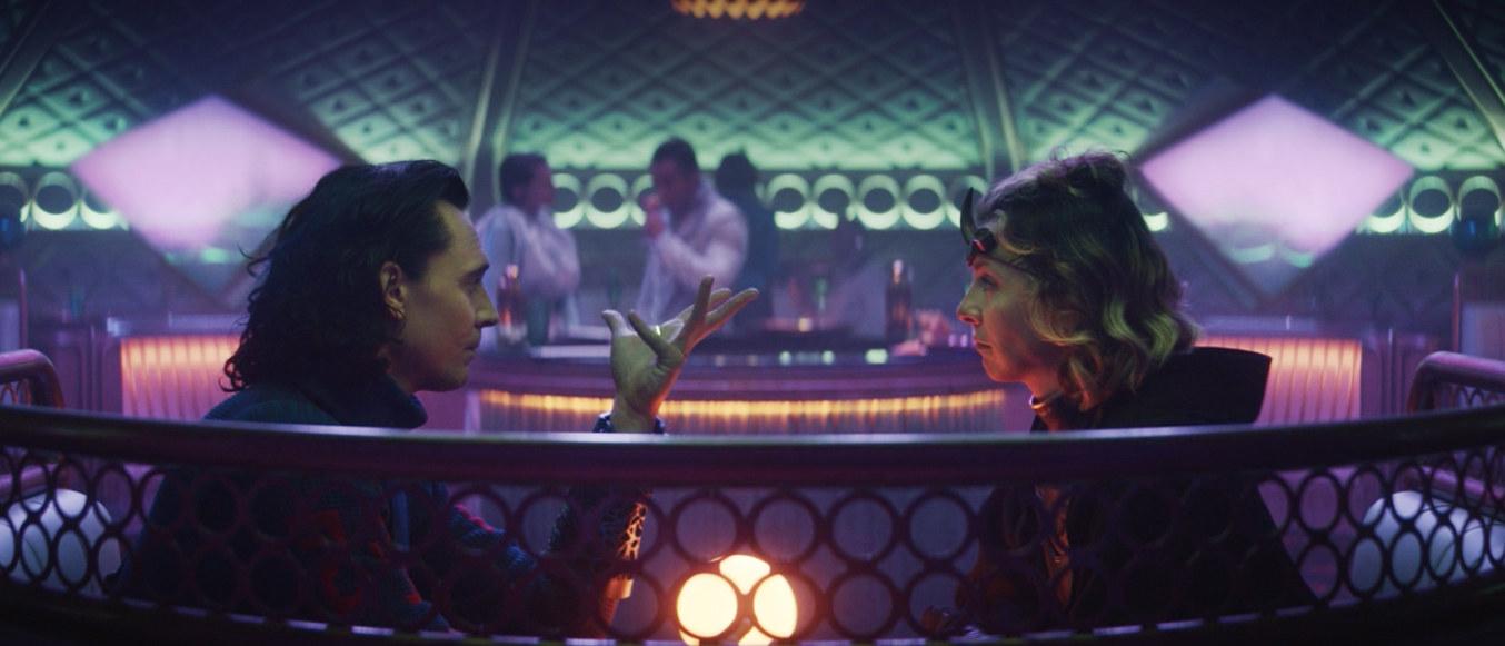 Loki confirms to Sylvie that he's bi