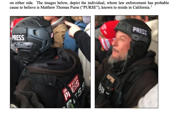 An Alleged Capitol Rioter Came Disguised As A Journalist, Prosecutors Say