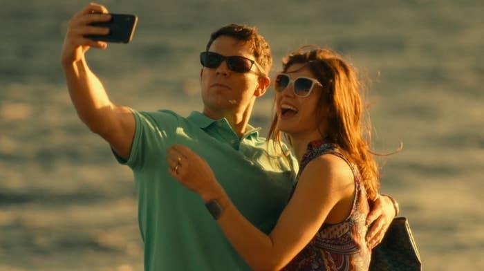 Shane and Rachel on boat