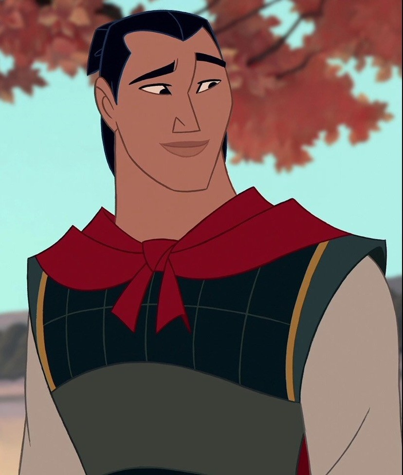 li shang looks to the left