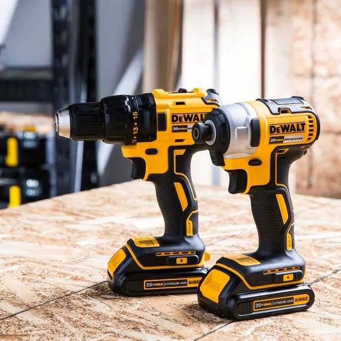 An image of a power tool combo kit