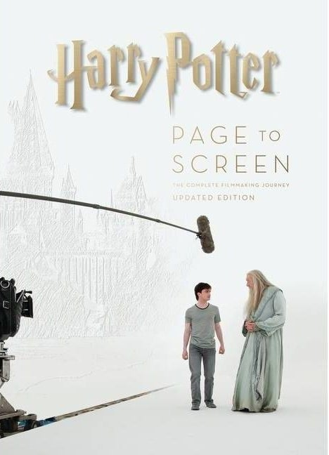 """cover of """"harry potter: Page to screen"""""""