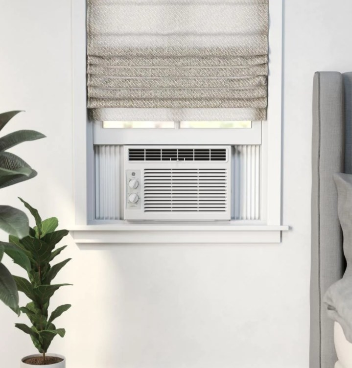 A 150-square feet window air conditioner