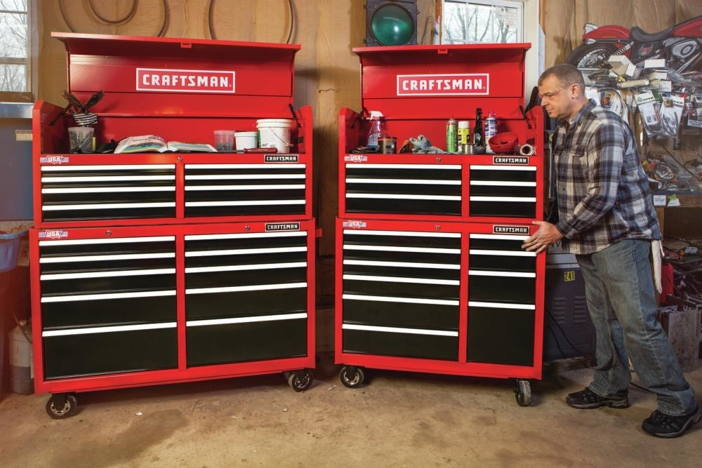 A10-drawer steel rolling tool cabinet