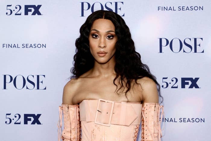MJ at the premiere of the final season of Pose