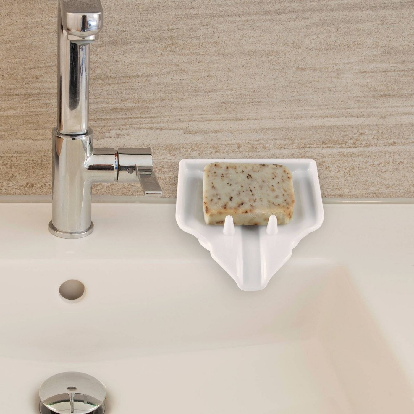 a waterfall soap dish