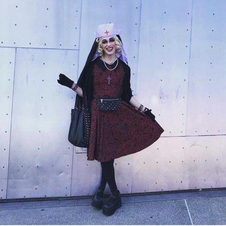 sister nurse joy in drag