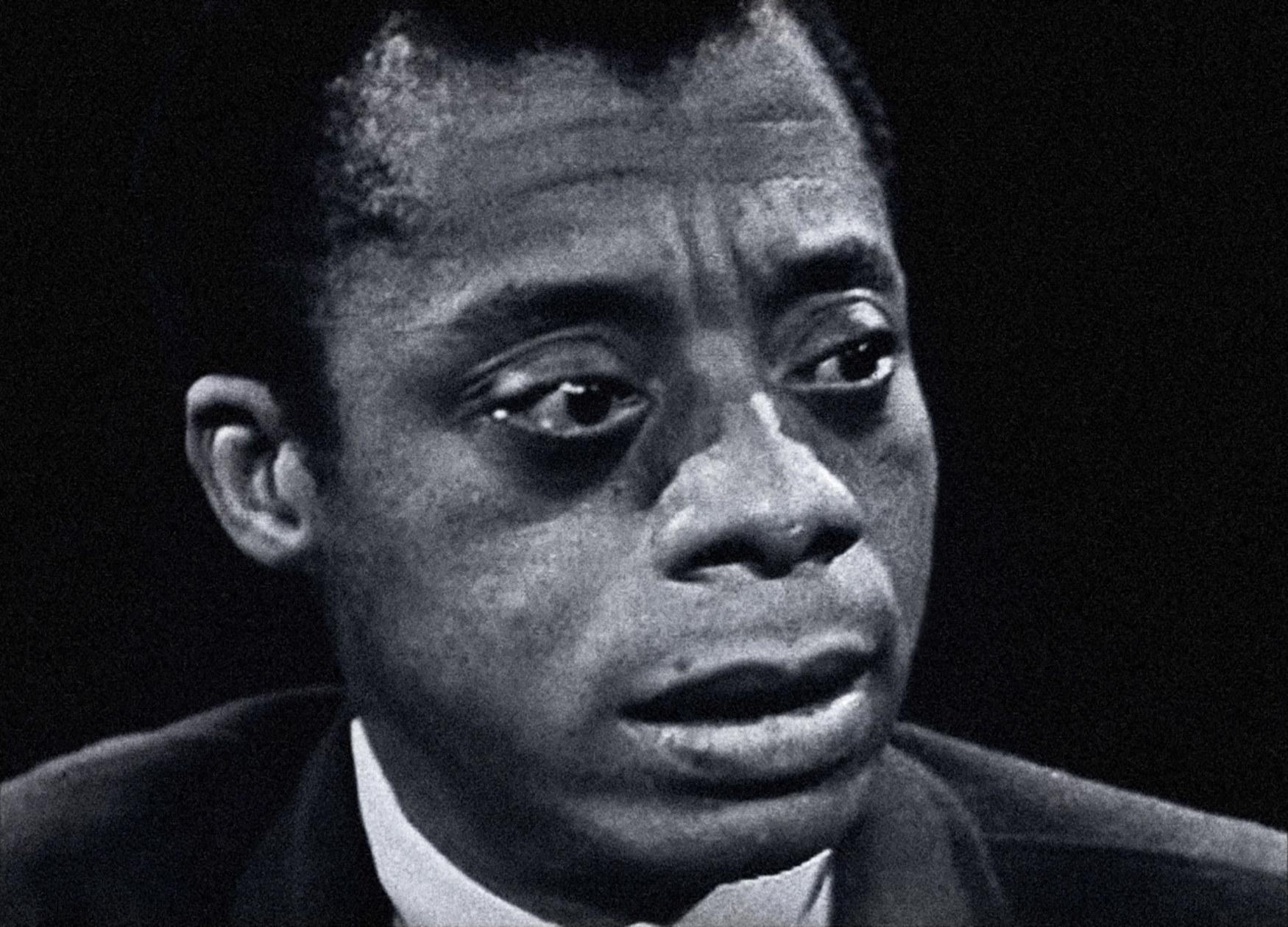 Interview footage of James Baldwin