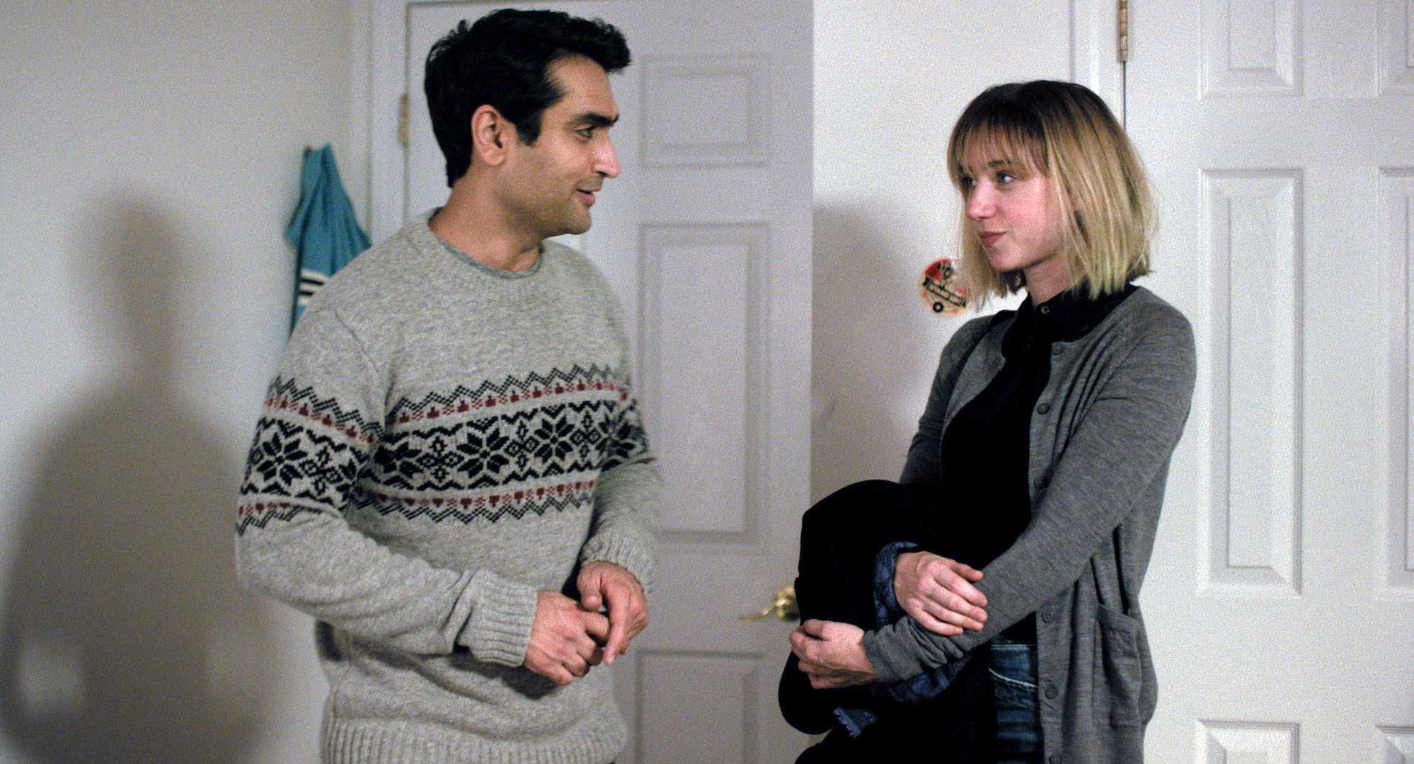 Kumail Nanjiana and Zoe Kazan talk