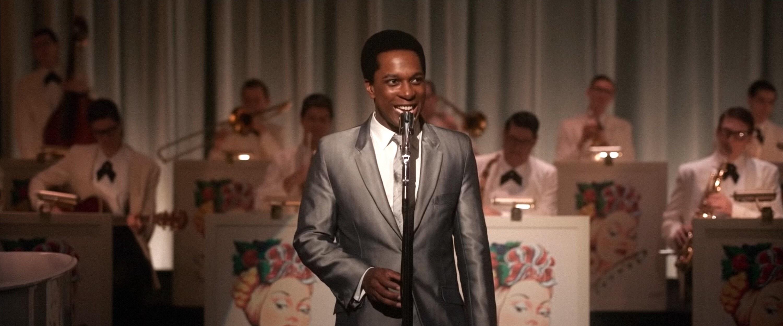 Leslie Odom Jr. performs as Sam Cooke