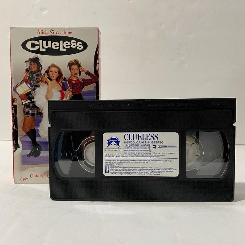 A Clueless VHS copy