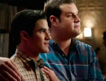 Blaine and Karofsky tell Kurt they're dating