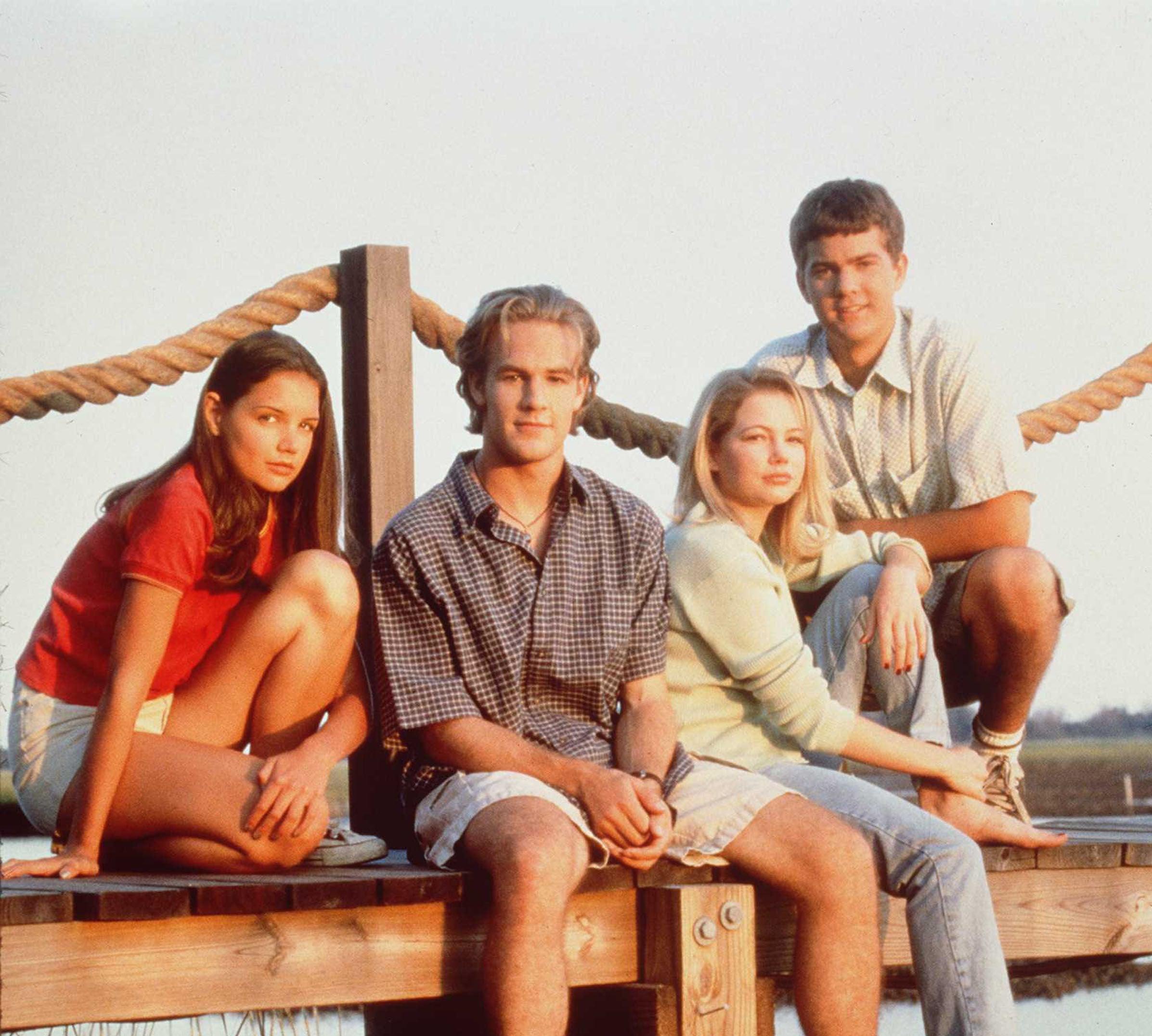 Season 1 Dawson's Creek cast photo