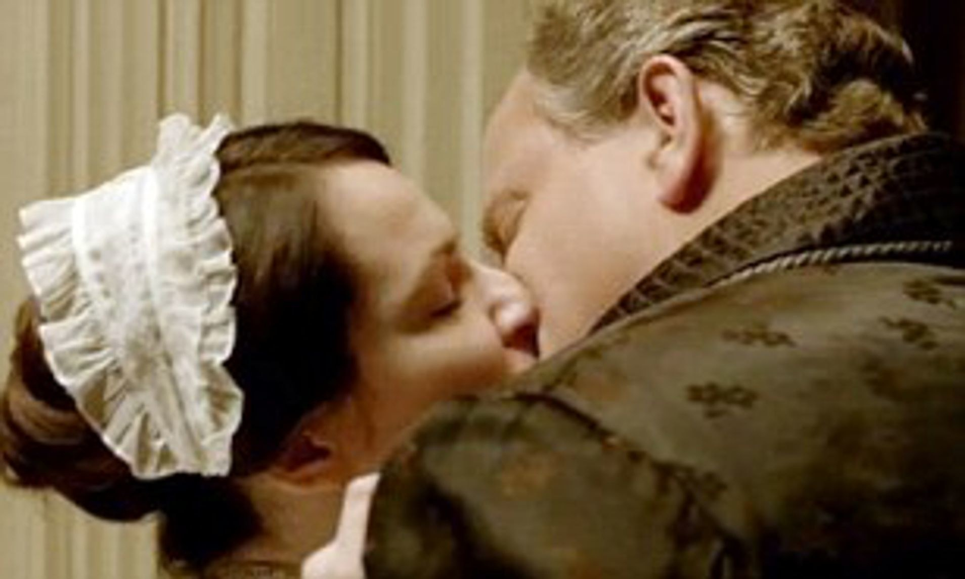 Robert cheats on Cora with the maid