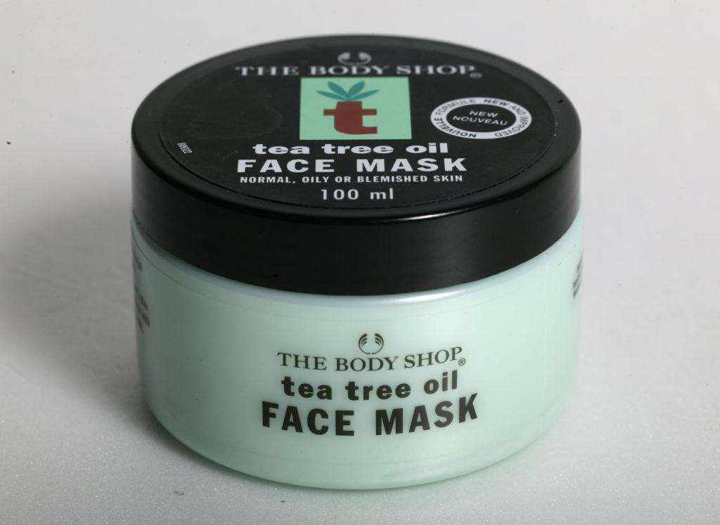 Tea Tree Oil Face Mask bottle