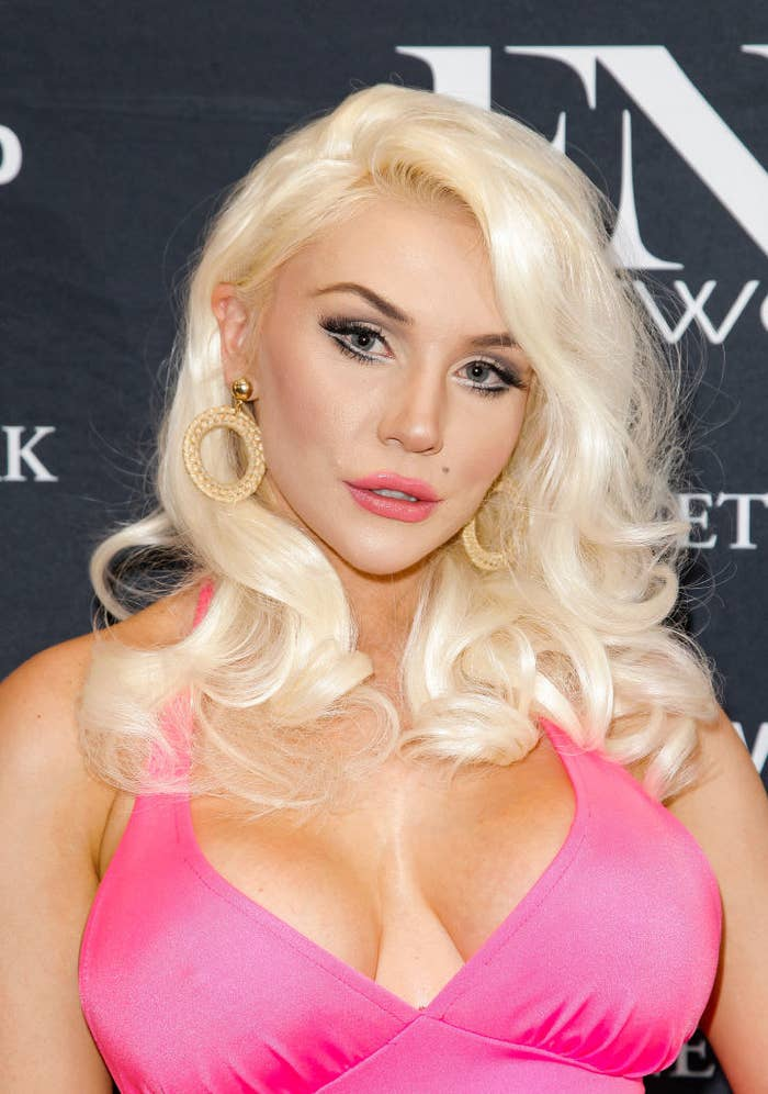 Courtney Stodden at a red carpet event
