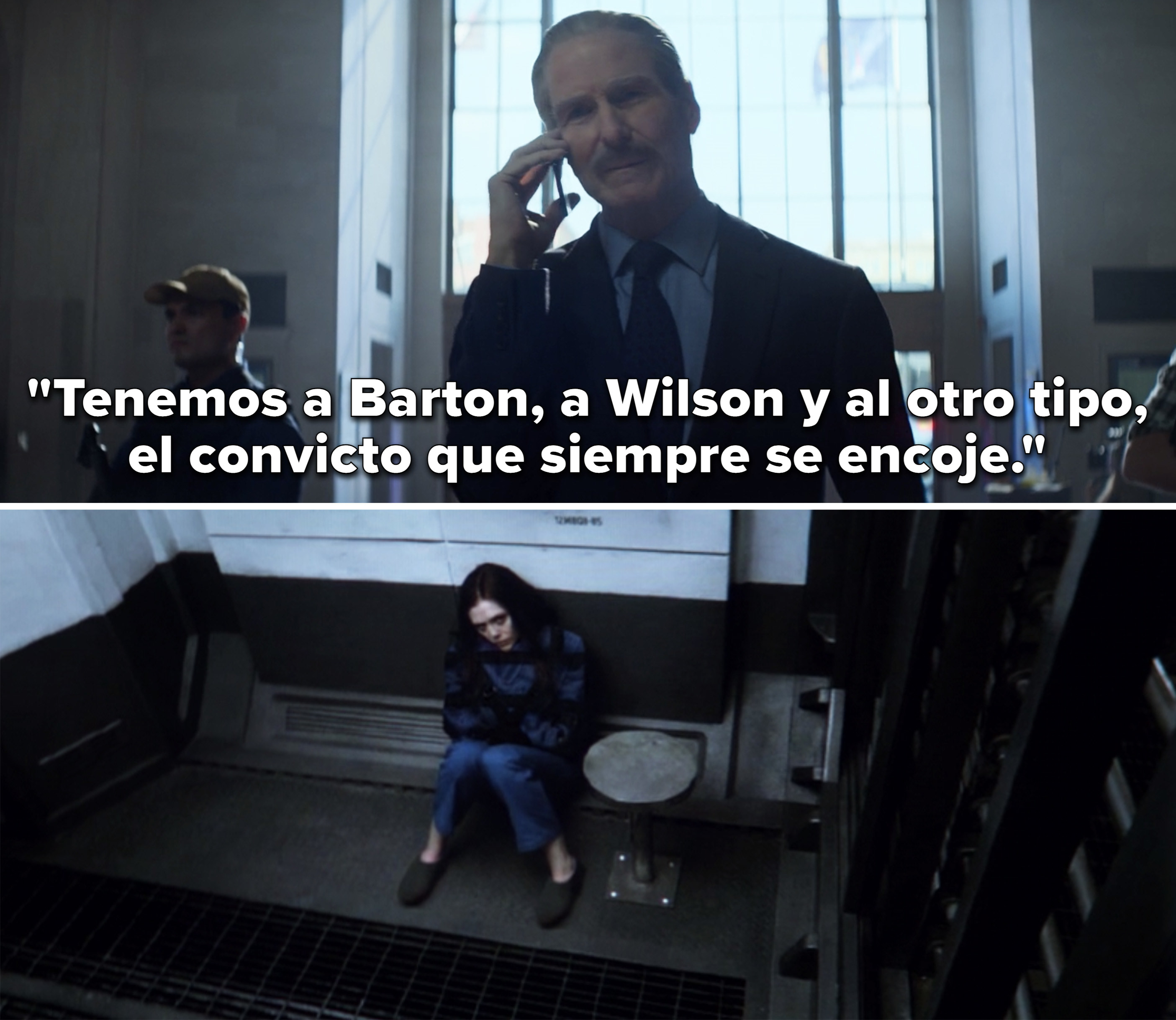 """Ross saying, """"We got Barton, we got Wilson and that other guy, the incredible shrinking convict"""""""