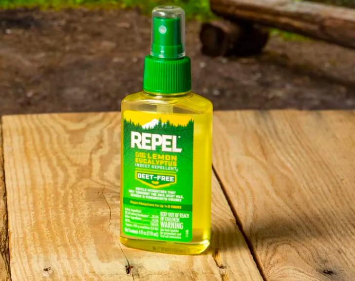 bottle of repellant