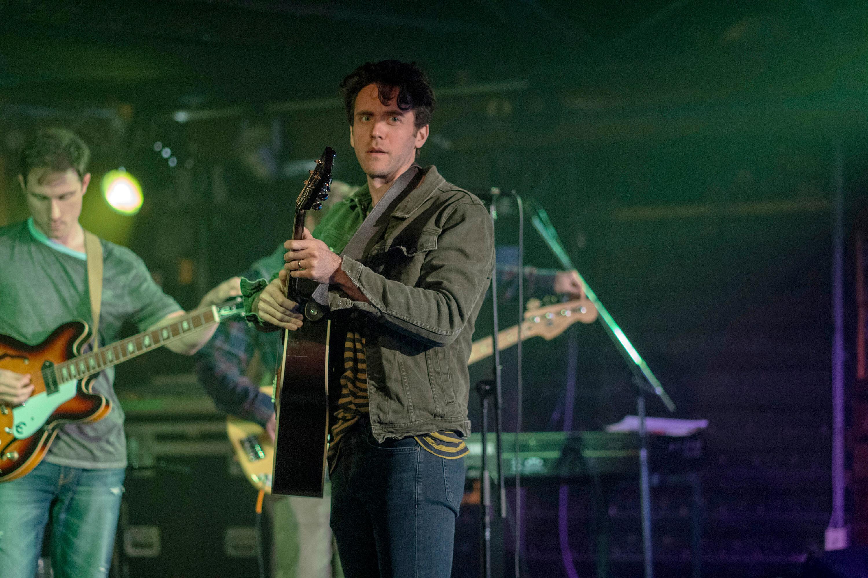 Matt Mitchell playing instrument